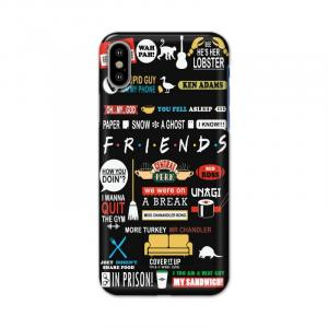 Official Friends Elements Black Case