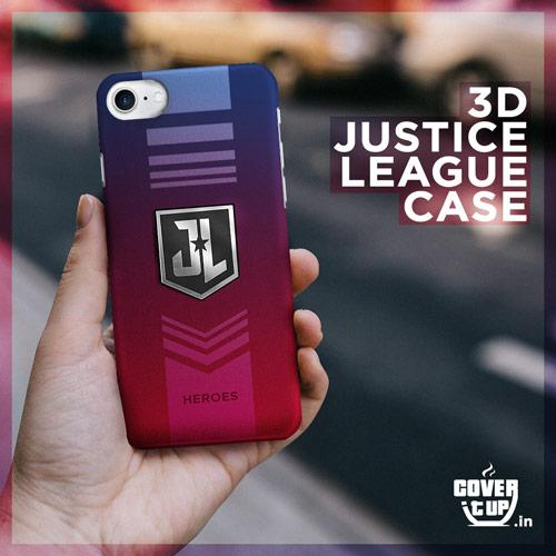 Real 3D Justice League United Case