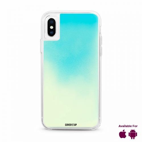 Blue Lagoon Neon Sand Glow Case