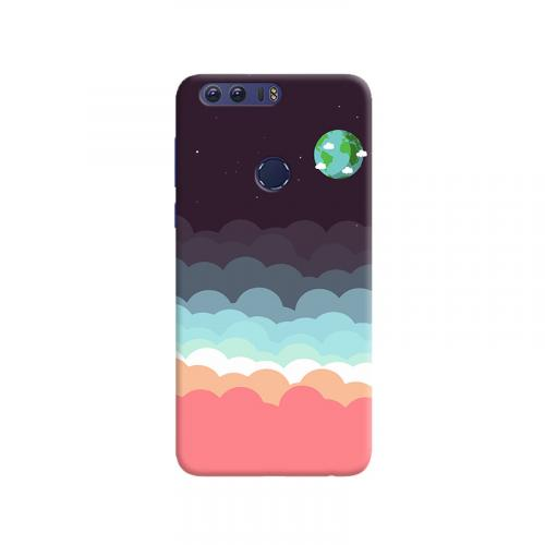 Colorful clouds design